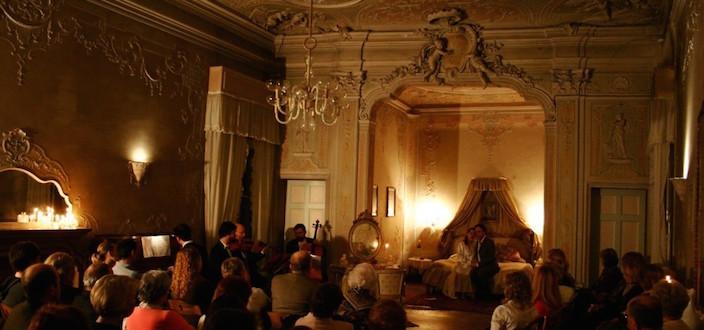 La Traviata at Palazzo Barbarigo-Minotto, Venice © Photo: Alvise Nicoletti