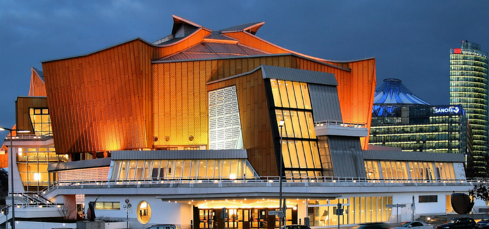 Berliner Philharmonie © Photo: Jorge Franganillo