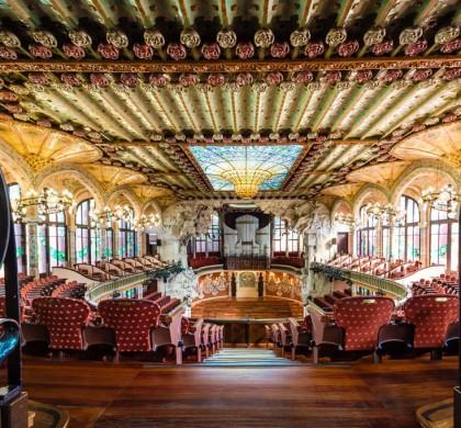 Main Concert Hall, Palau de la Música © Photo: Matteo Vecchi