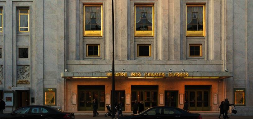 Théâtre des Champs Elysées, Paris