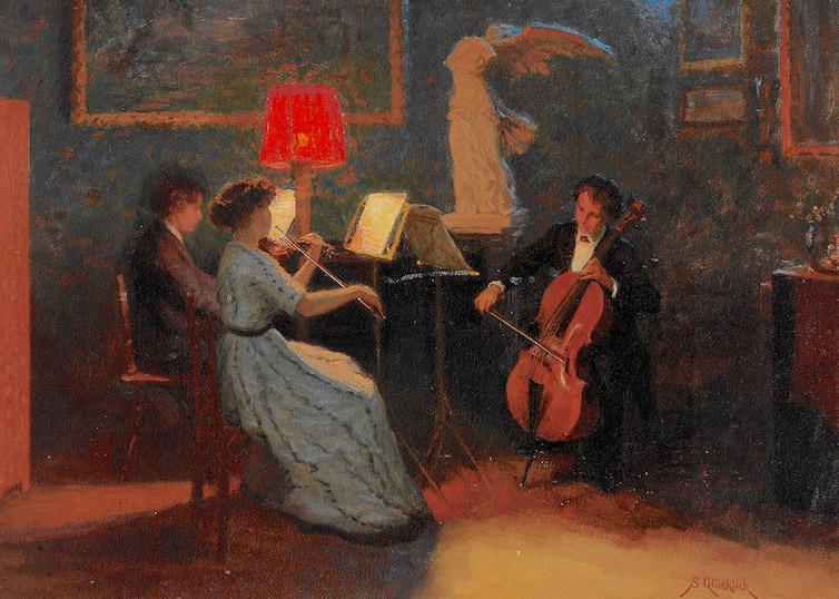 Chamber Music, Simon Glücklich Nocturne