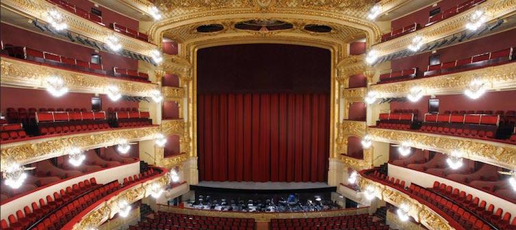Gran Teatre del Liceu @ Photo: Ricard Bofill