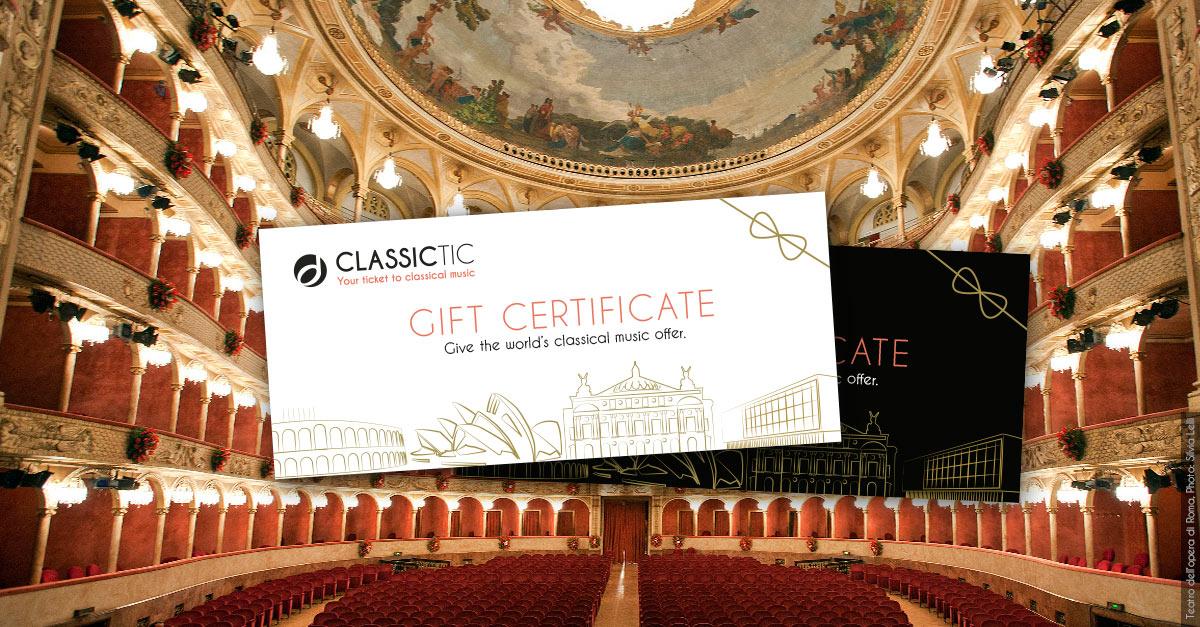 Classictic Gift Certificate