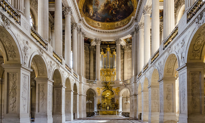 Royal Chapel of the Palace of Versailles © Sean X. Liu