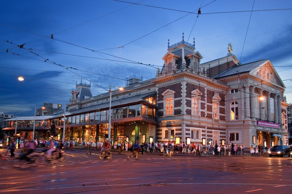 Concertgebouw, Amsterdam, © Photo: Leander Lammertink