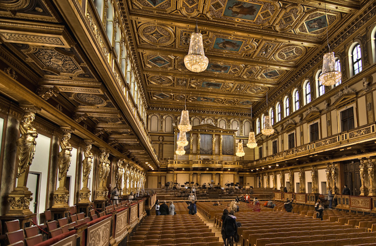 Golden Hall of the Musikverein, Vienna © Photographer: Stefou (Flickr)