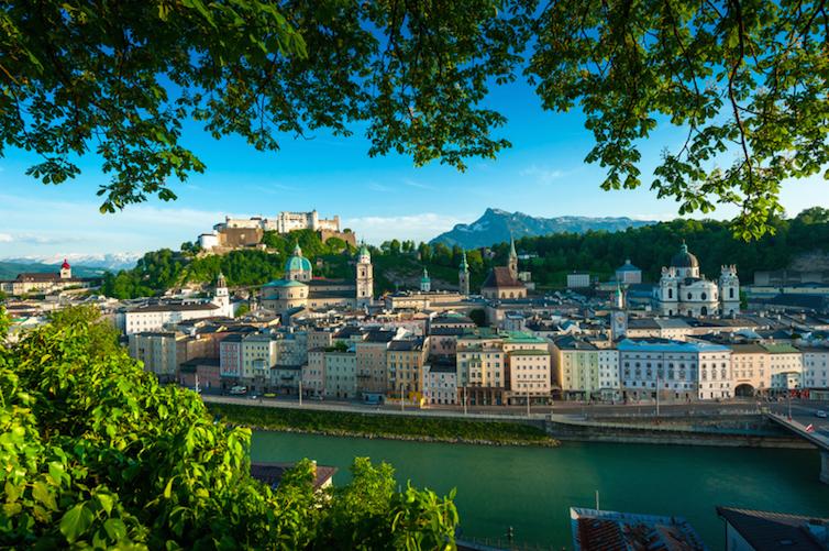 Salzburg, Austria © Tourismus Salzburg GmbH