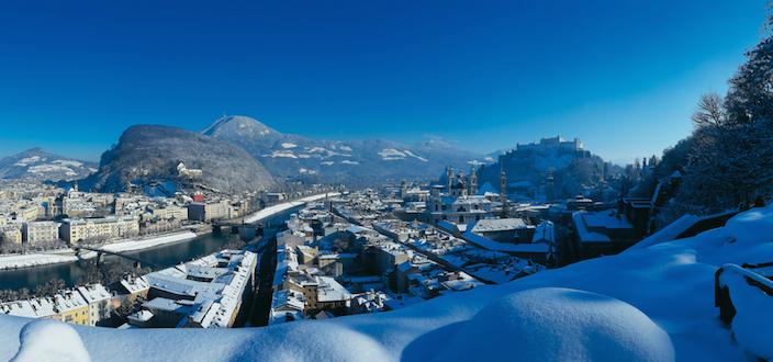 Winter in Salzburg, Austria © Tourismus Salzburg GmbH
