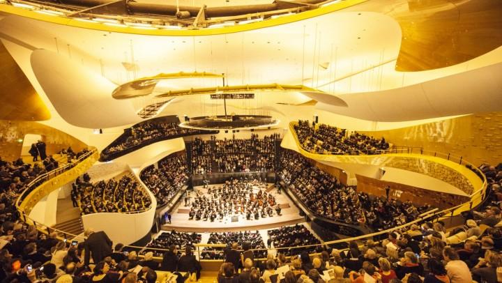 Grand Salle Philharmonie de Paris © William Beaucardet