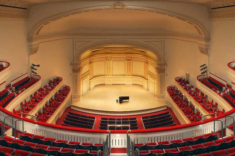 Carnegie Hall, Stern Auditorium, © Photo: Jeff Goldberg/Esto