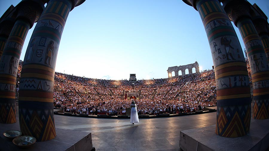 Aida, © Photo: Ennevi | Courtesy of Fondazione Arena di Verona