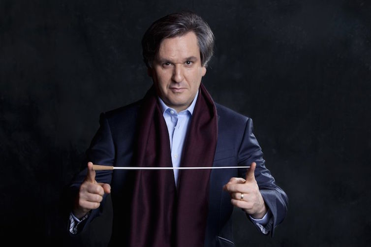 Antonio Pappano, Music Director of the Accademia Nazionale Santa Cecilia © Musacchio & Ianniello licensed to EMI Classics