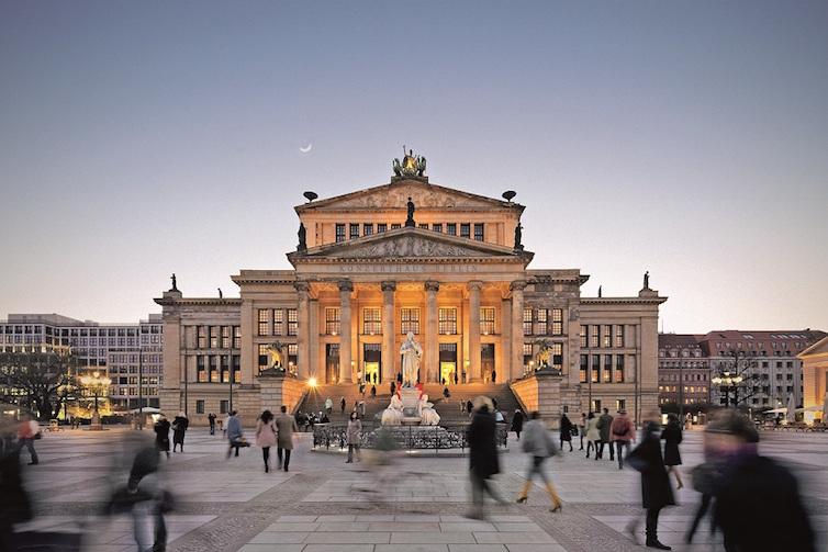 Berlin Konzerthaus © Foto: Sonja Gutschera und Leif Henrik-Osthoff