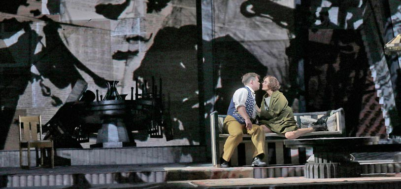 Lulu by Berg at Teatro dell'Opera di Roma © Ken Howard
