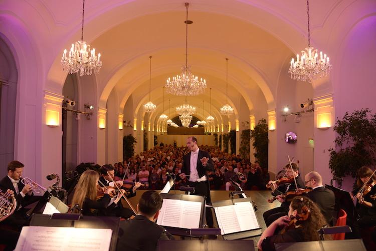 Concert at Schönbrunn's Orangerie © WKE/Image Vienna