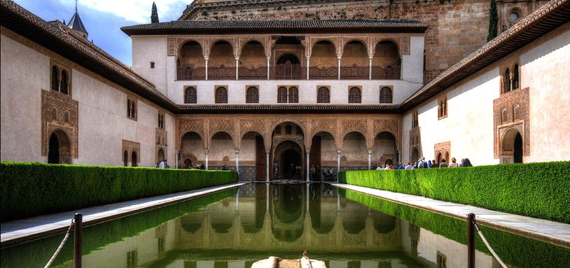 Spain-Granada-Alhambra-Court-of-the-Myrtles-c-Flickr-Romtomtom