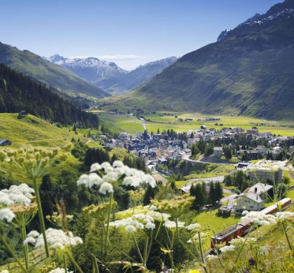 View of Andermatt © Tommy Picone