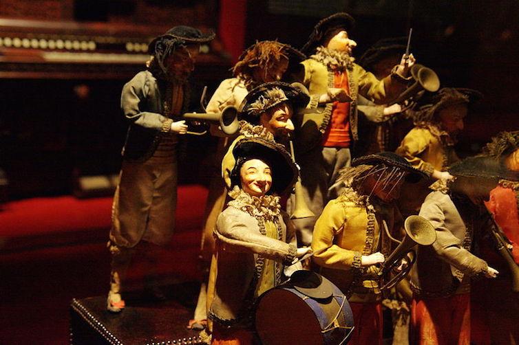 Orchestra of automatons, 19th century. Museu de la música, Barcelona © Photo: Amador Alvarez