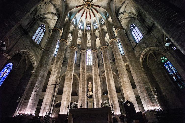 Santa Maria del Mar - Barcelona © Faris Algosaibi