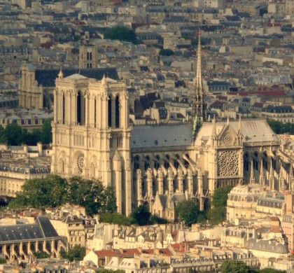 Notre Dame de Paris from the Montparnasse tower © Pline (cc)