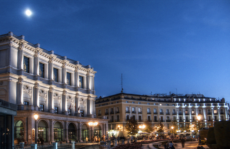 Teatro Real view from Plaza de Oriente © Toni Rodrigo