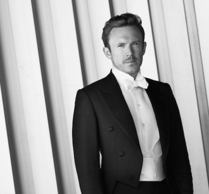 Daniel Harding, future musical director of the Orchestre de Paris @ Julian Hargreaves