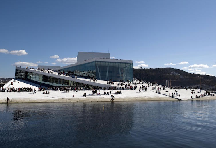 Oslo Opera House © Photo- Erik Berg