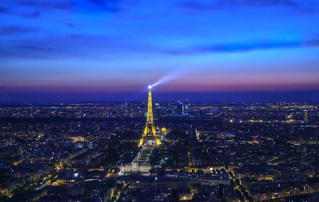 Classical music at the Eiffel Tower